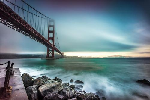 Folden gate bridge, San Francisco