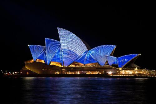 Opera House by night, Sidney
