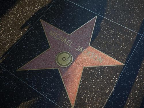 Walk of Fame / Michael Jackson, Hollywood